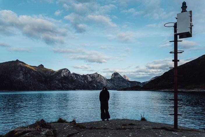 Segla Senja Norvège Randonnée van