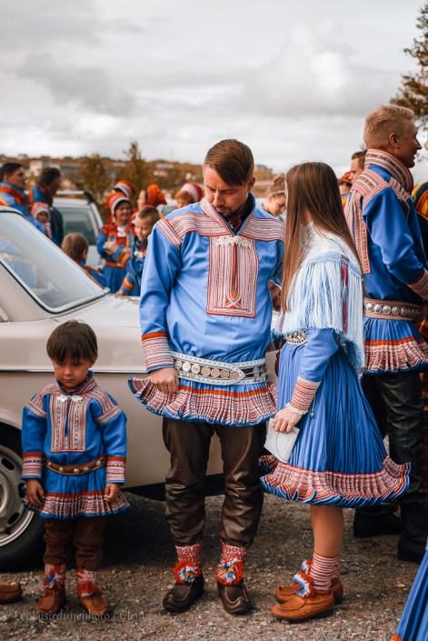 Mariage sami lapon van Norvege freed home camper