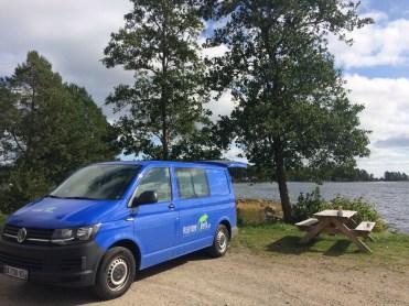 Suède road trip Jävle Gävle voyage en van