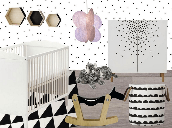 Inspiration chambre bébé fille - Blog déco Clem Around The ...