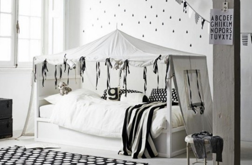 transformer le lit ikea kura 15 id es ikea hacks blog. Black Bedroom Furniture Sets. Home Design Ideas