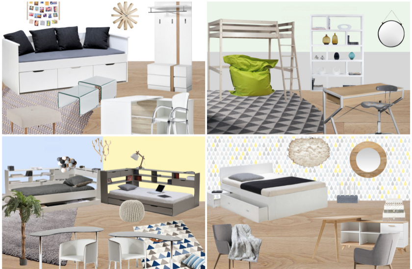 Inspiration deco chambre ado  Blog Dco  Clem Around The Corner