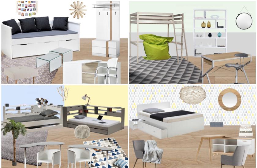 Deco Chambre Ado Idee Inspiration Garcon Fille