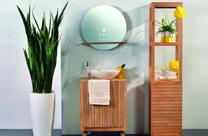 miroir connect ekko par miliboo domotique pour la salle. Black Bedroom Furniture Sets. Home Design Ideas