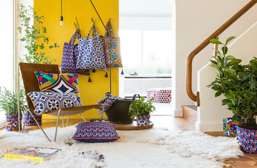 Deco wax : le tissu africain colore la maison - Clem Around The Corner