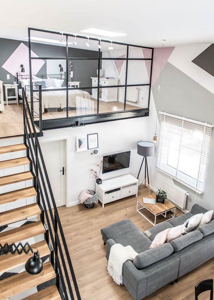 Loft scandinave : visite déco - Décoration intérieure ...