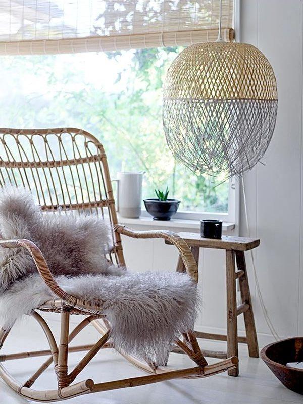 bar chair ikea game of thrones replica lampe bambou et suspension dans la décoration - clemaroundthecorner