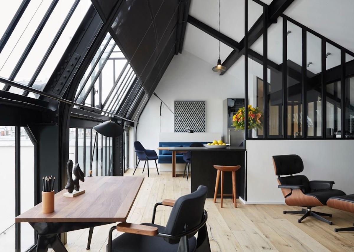 Appart parisien : fusion de chambres de bonne clem around the