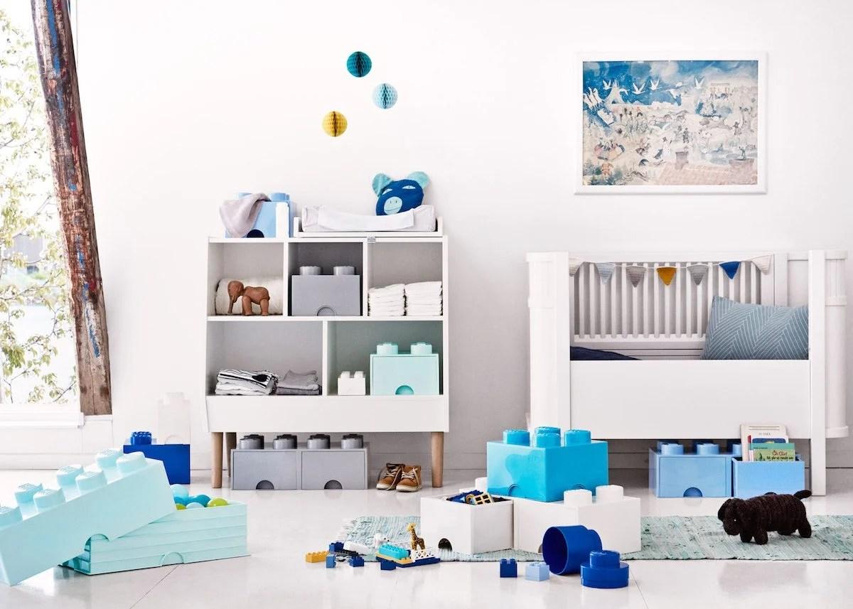 Agreable Rangement Ludique Chambre Enfant Boite Lego Géant Blog Déco Clem Around The  Corner