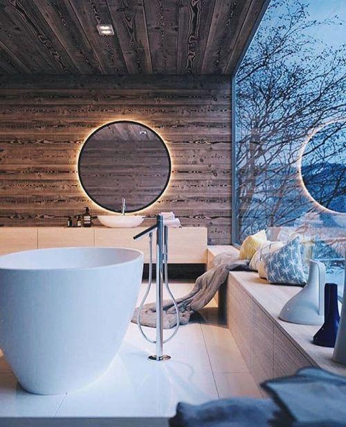 salle de bain theme nature montagne cosy hygge bois - Blog déco - Clem around the corner
