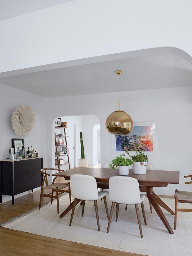 tom dixon salle à manger retro scandinave melt lampe de créateur blog déco clemaroundthecorner