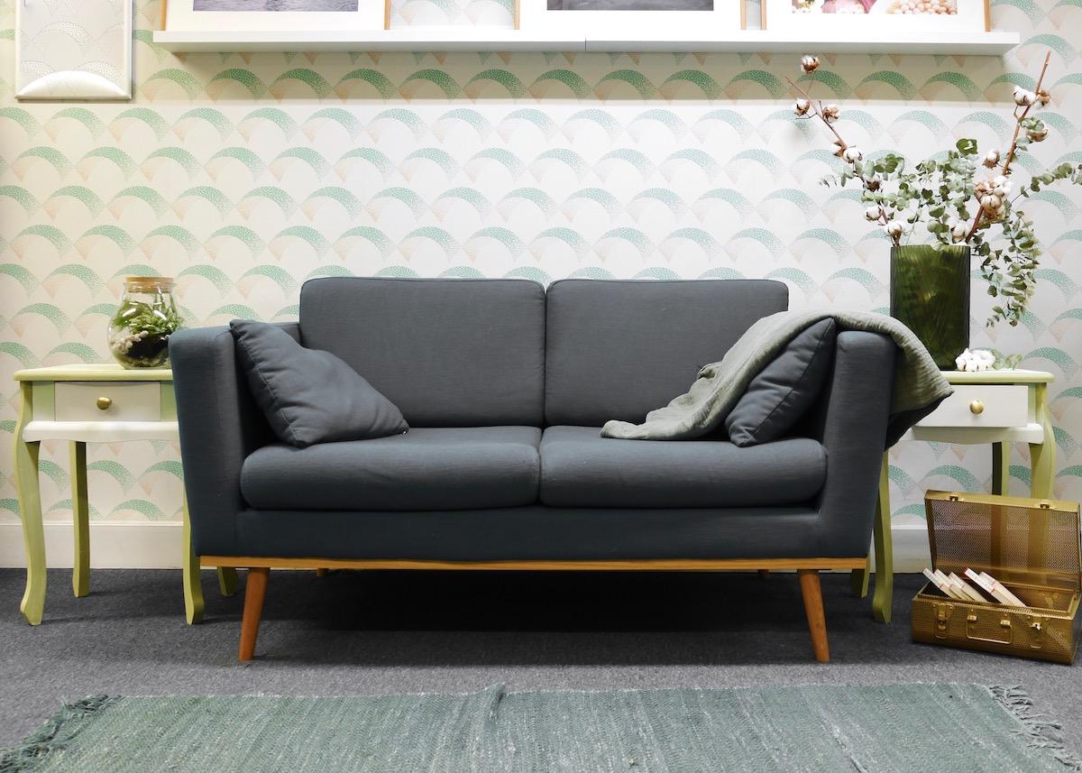 customiser une table de chevet blog d co clem around. Black Bedroom Furniture Sets. Home Design Ideas