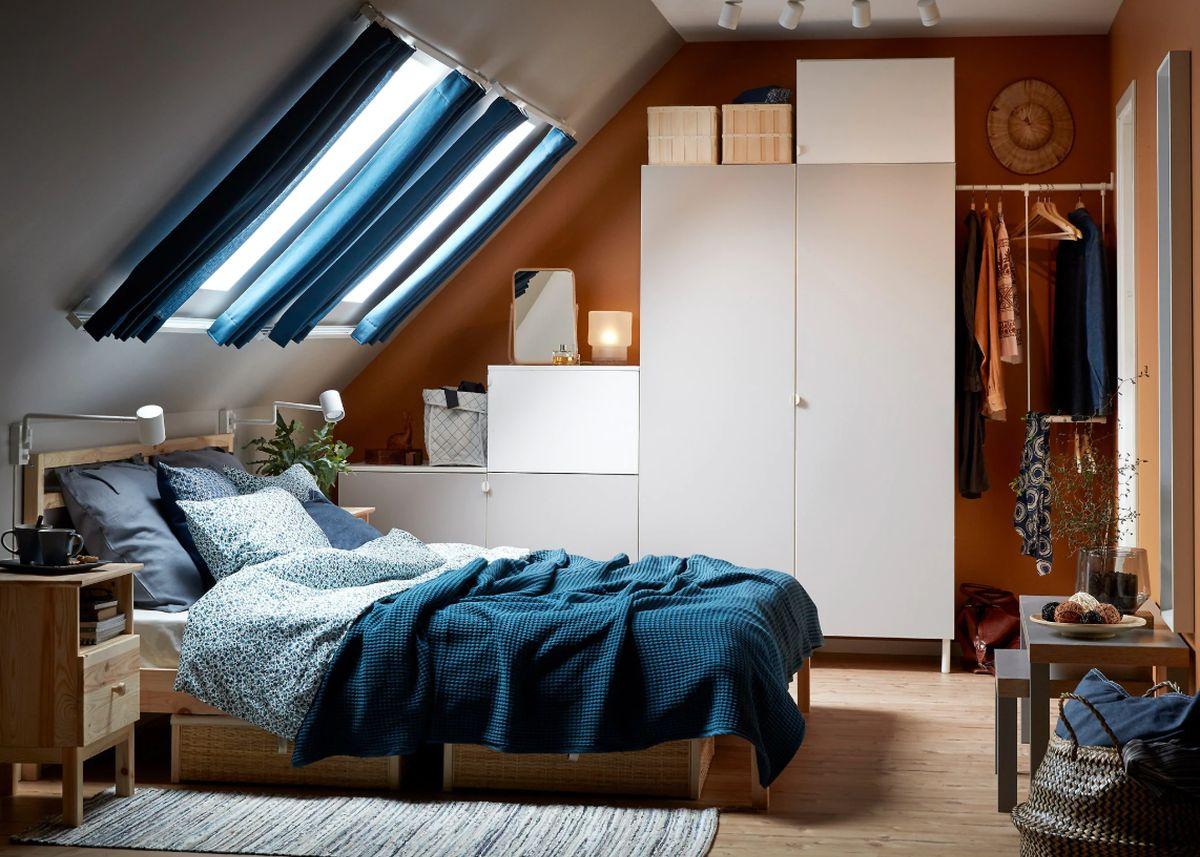 Charmant Optimiser Le Rangement Ikea Chambre à Coucher Platsa Garde Robe Blanc Gris  Clair Blog Déco Clem