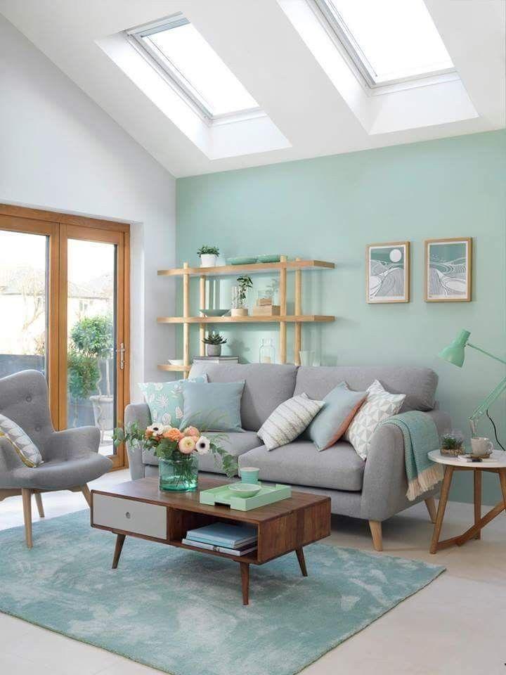 d coration vert c ladon astuces et inspirations clem. Black Bedroom Furniture Sets. Home Design Ideas