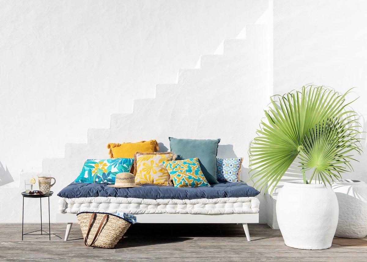 nouvelle collection catalogue maisons du monde 2019 terrasse méditerranée ,  blog déco , clem around the