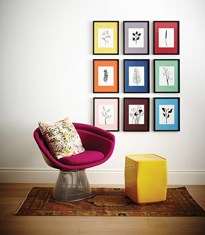 mur de cadres r ussir sa d co avec junique clem around. Black Bedroom Furniture Sets. Home Design Ideas