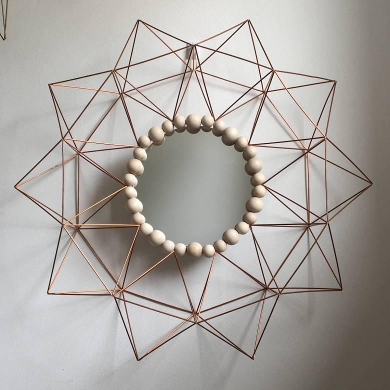 himmeli diy façon miroir soleil décoration scandinave - blog déco - clem around the corner