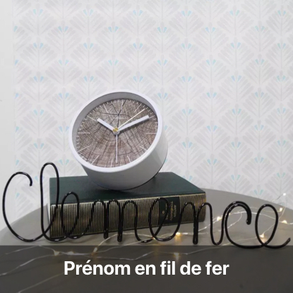 prénom fil de fer tutoriel - blog diy création déco - clem around the corner
