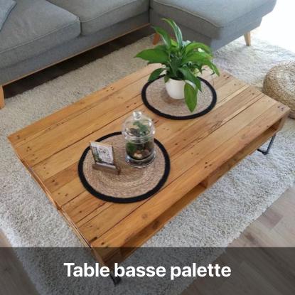 table basse palette tutoriel - blog diy création déco - clem around the corner
