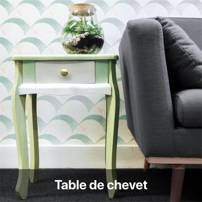 table de chevet tie and dye tutoriel - blog diy création déco - clem around the corner