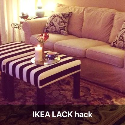 transformer table basse ikea lack en pouf design