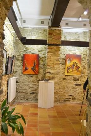 Clémence Caruana - 48e Salon d'Art à Castelnaudary Mai 2016