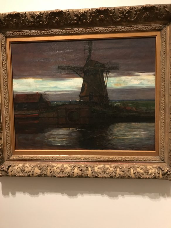 An early Piet Mondrian, created before his more abstract style
