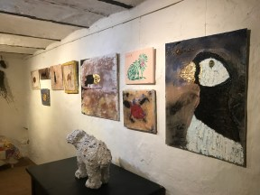 Art in the cowshed