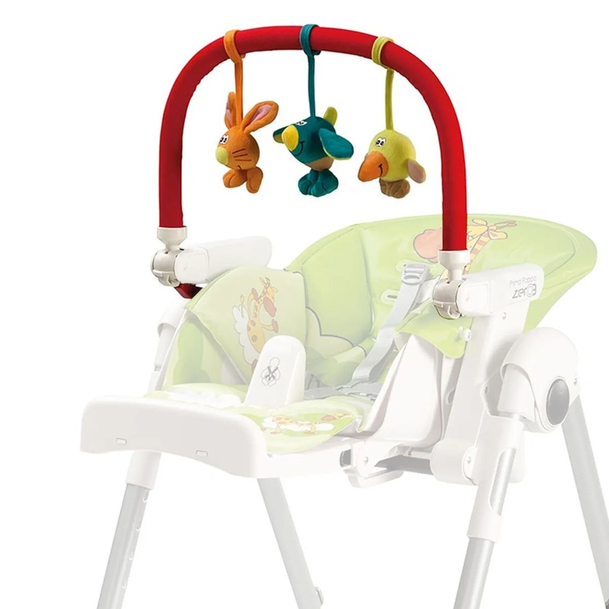 Perego High Chair Peg Perego High Chair Activity Bar Animals Clement