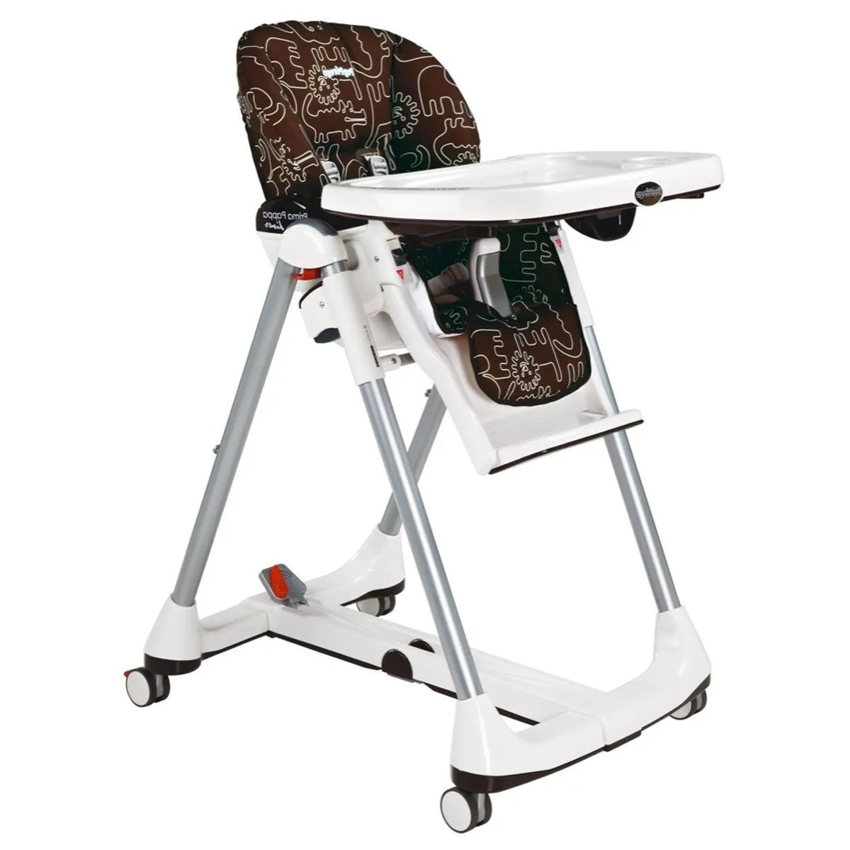 Perego High Chair Peg Perego Prima Pappa Diner High Chair Savana Cacao Clement