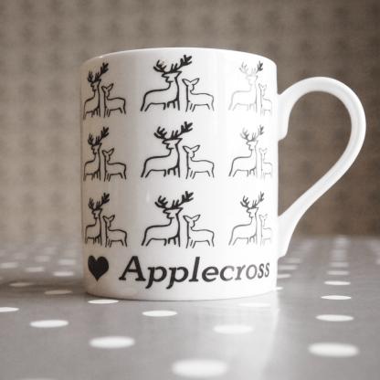 Deer Fine Bone China Mug by Clement Design