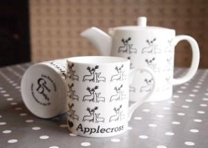 Deer & Fawn Fine Bone China Teapot Mugs Teaset by Clement Design