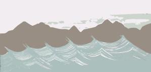 Sand Beach motif by Clement Design