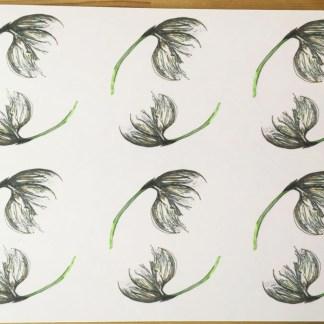 Cotton Grass Placemat by Clement Design