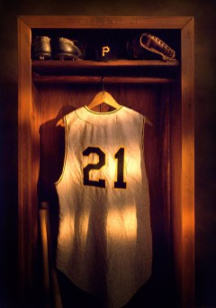 Still Life from the Roberto Clemente Calendar shot by Duane Rieder.