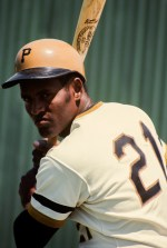 Clemente poses for a series of portraits.