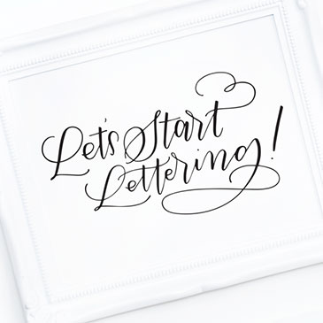 24 Awesome Hand Lettering Tutorials