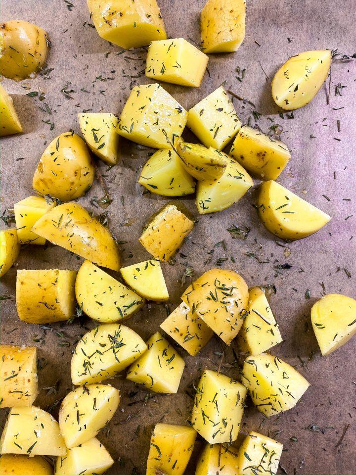 pommes de terre avant cuisson