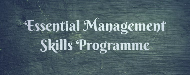 Essential management skills programme