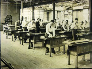 Architecture Woodshop ca1940