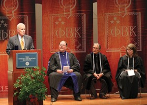 The Phi Beta Kappa installation ceremony was held on April 1, 2007, and 74 Clemson students were inducted.