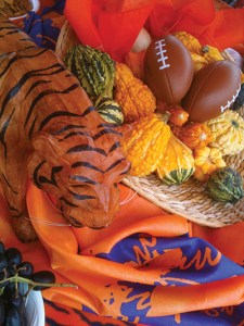 Clemson fans cook up tailgating fare that would make Rachael Ray proud.