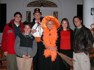 Halloween means it must be time to Trick or Treat at the President's Home, where costumes vary each year.