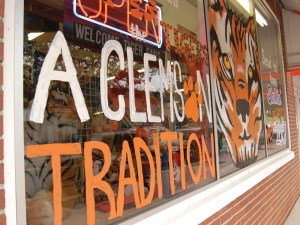 Judge Keller store window