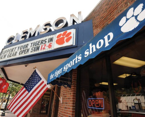 The Tiger Sports Shop