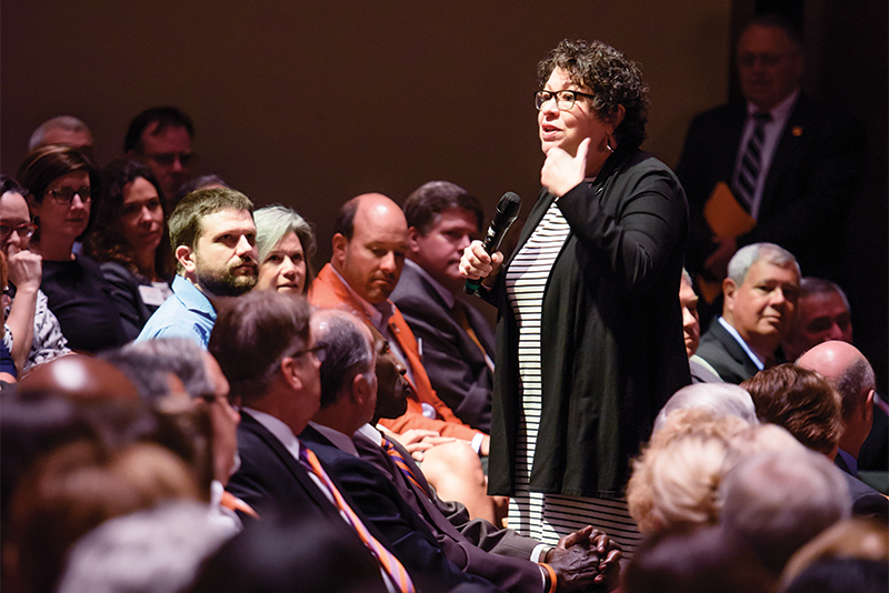 Sonia Sotomayor speaks at Clemson