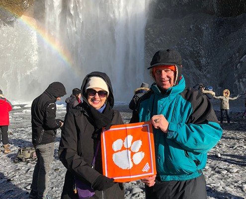 Iceland: Bill '76 and Julie Calk '76 Jackson
