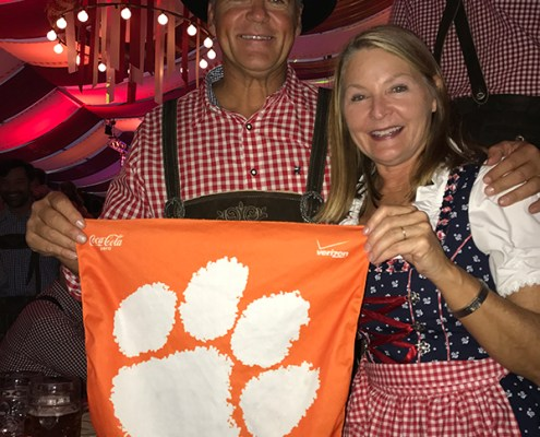Germany: Michael '82, M '84 and Lu Anne Anderson '84 Newton