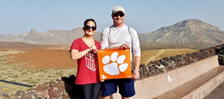 Canary Islands: Henry '09 and Amanda Trujillo '08 McGill