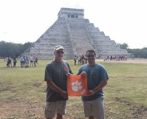 Mexico: Chuck Ballard '78 and Trey Ballard '09